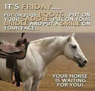 friday quotes horse tales and trails